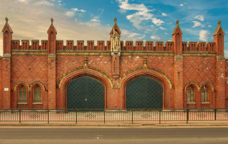 фридланские ворота калининград