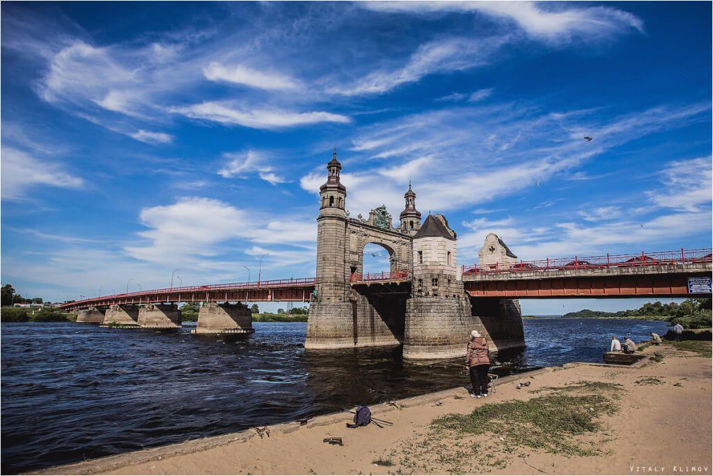 Мост Луизы Калининградская область