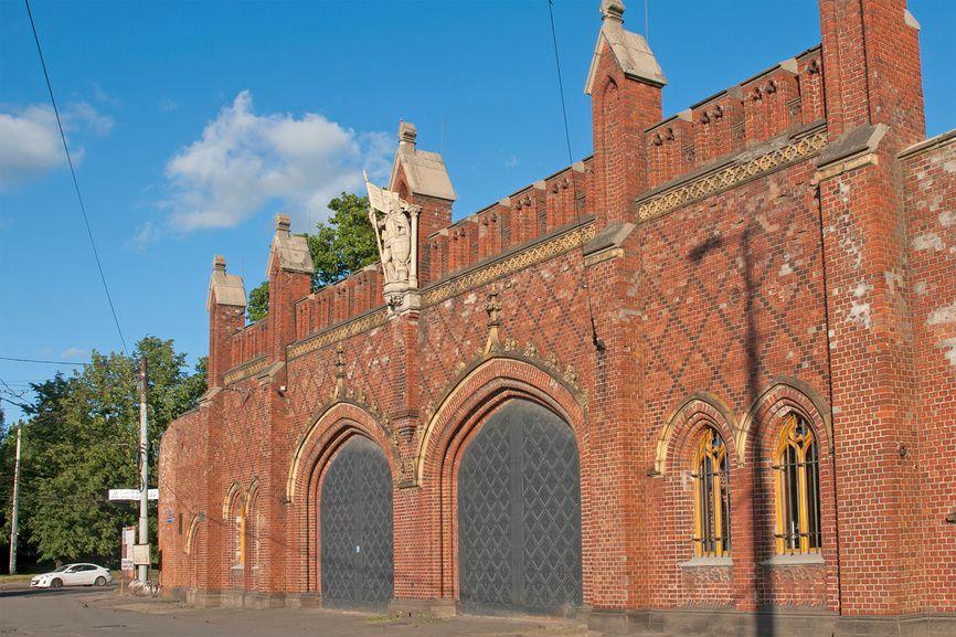 Фридландские ворота в Калининграде