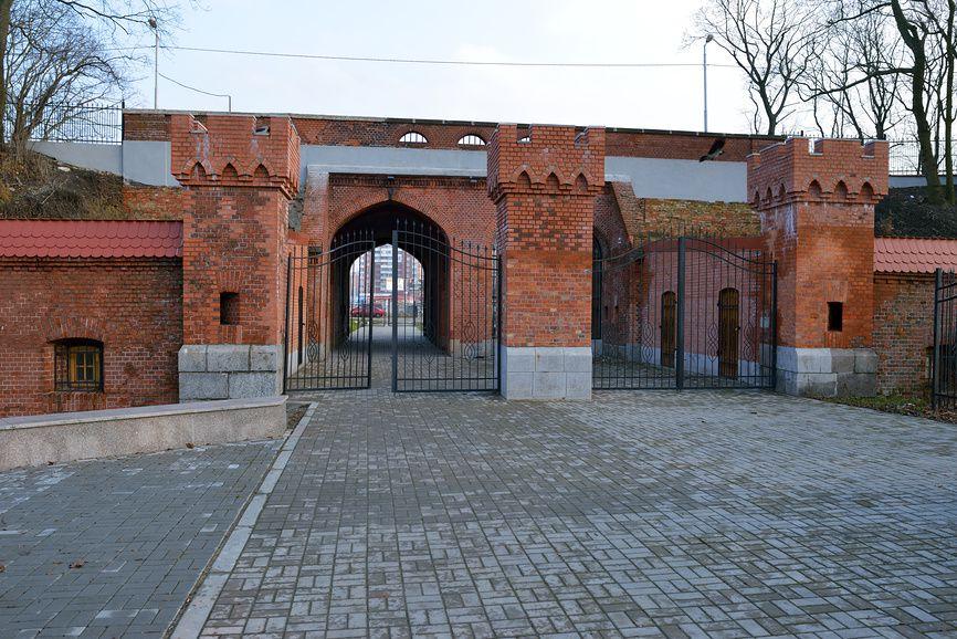 Железнодорожные ворота в Калининграде