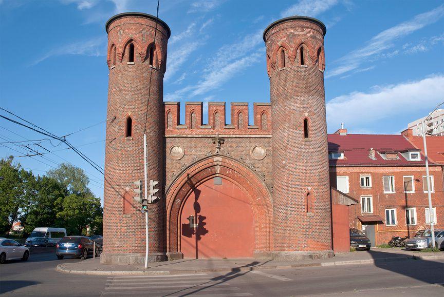Закхаймские ворота в Калининграде