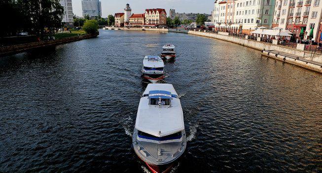Экскурсия на теплоходе Калининград