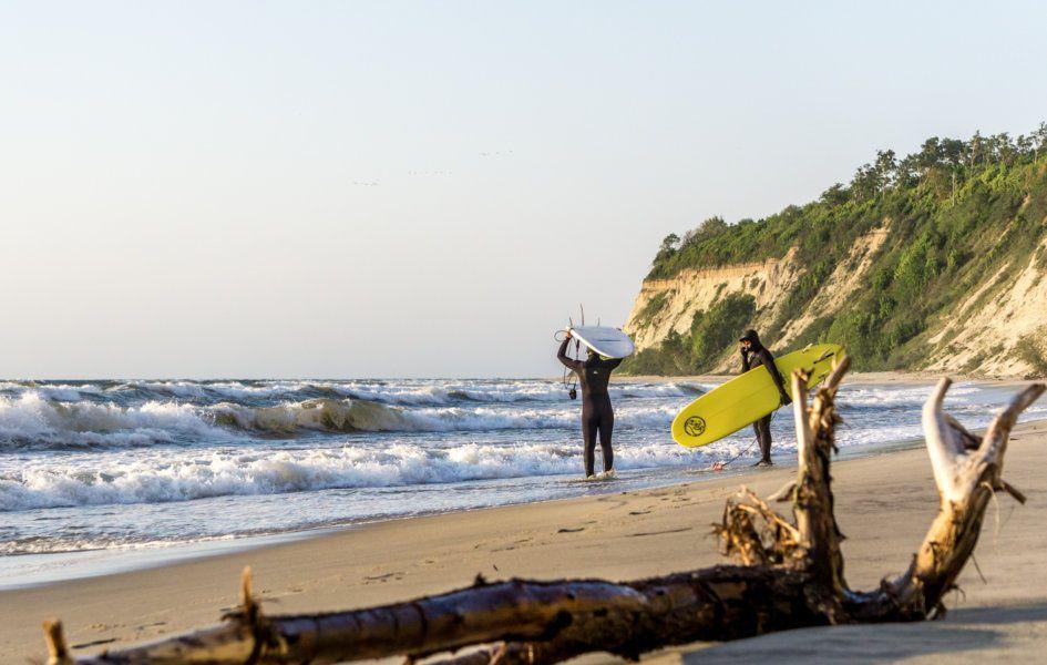 Серфинг в Калининграде