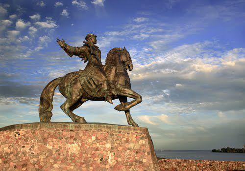 Памятник Елизавете в Балтийске