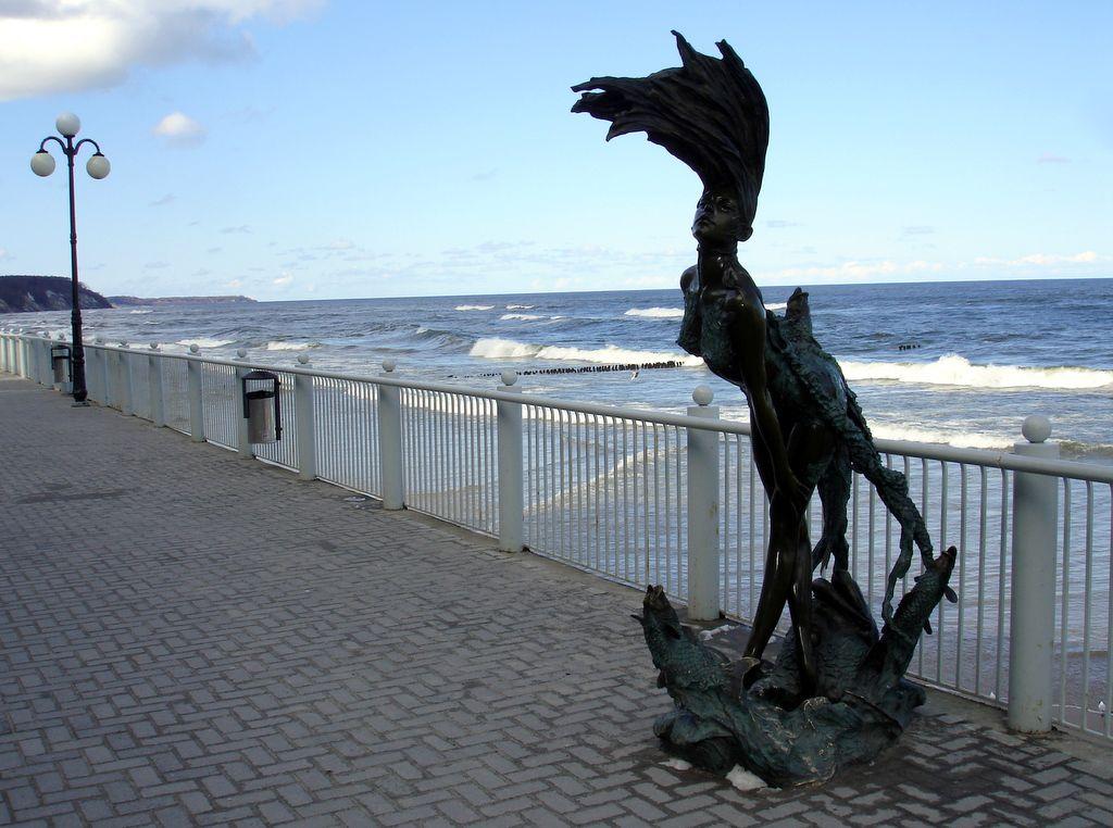 Статуя в Светлогорске