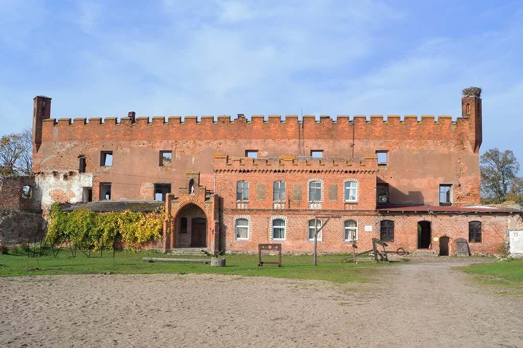 замок шаакен калининградская область