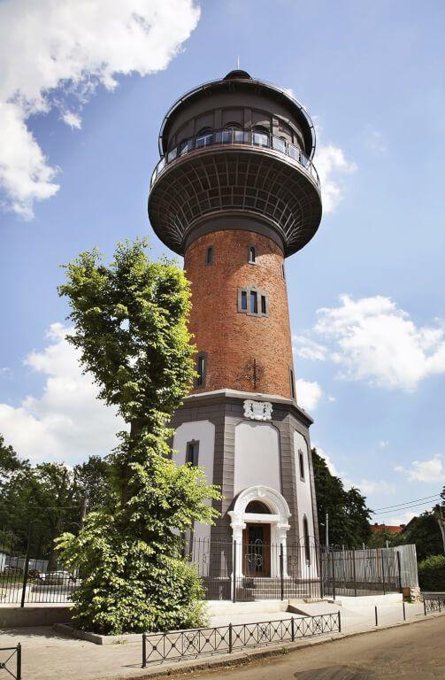 Водонапорная башня, Зеленоградск